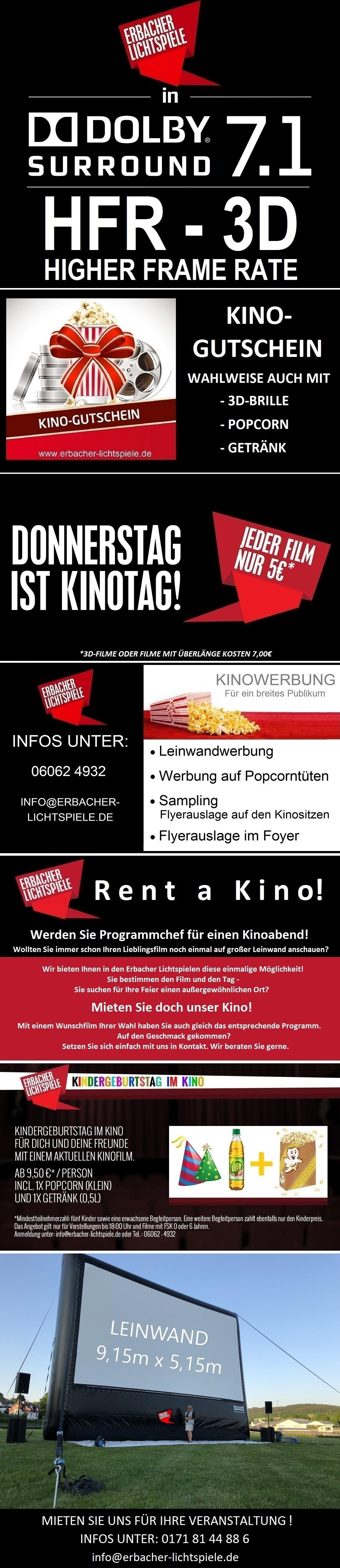 Lichtspiele Erbach Programm